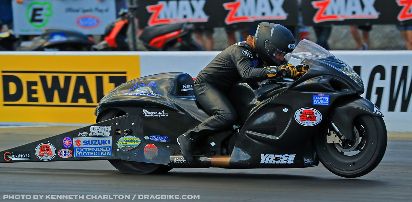 Joey Gladstone - NHRA Pro Stock Motorcycle