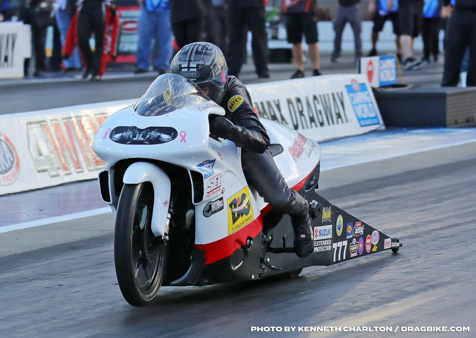 Karen Stoffer - NHRA Pro Stock Motorcycle