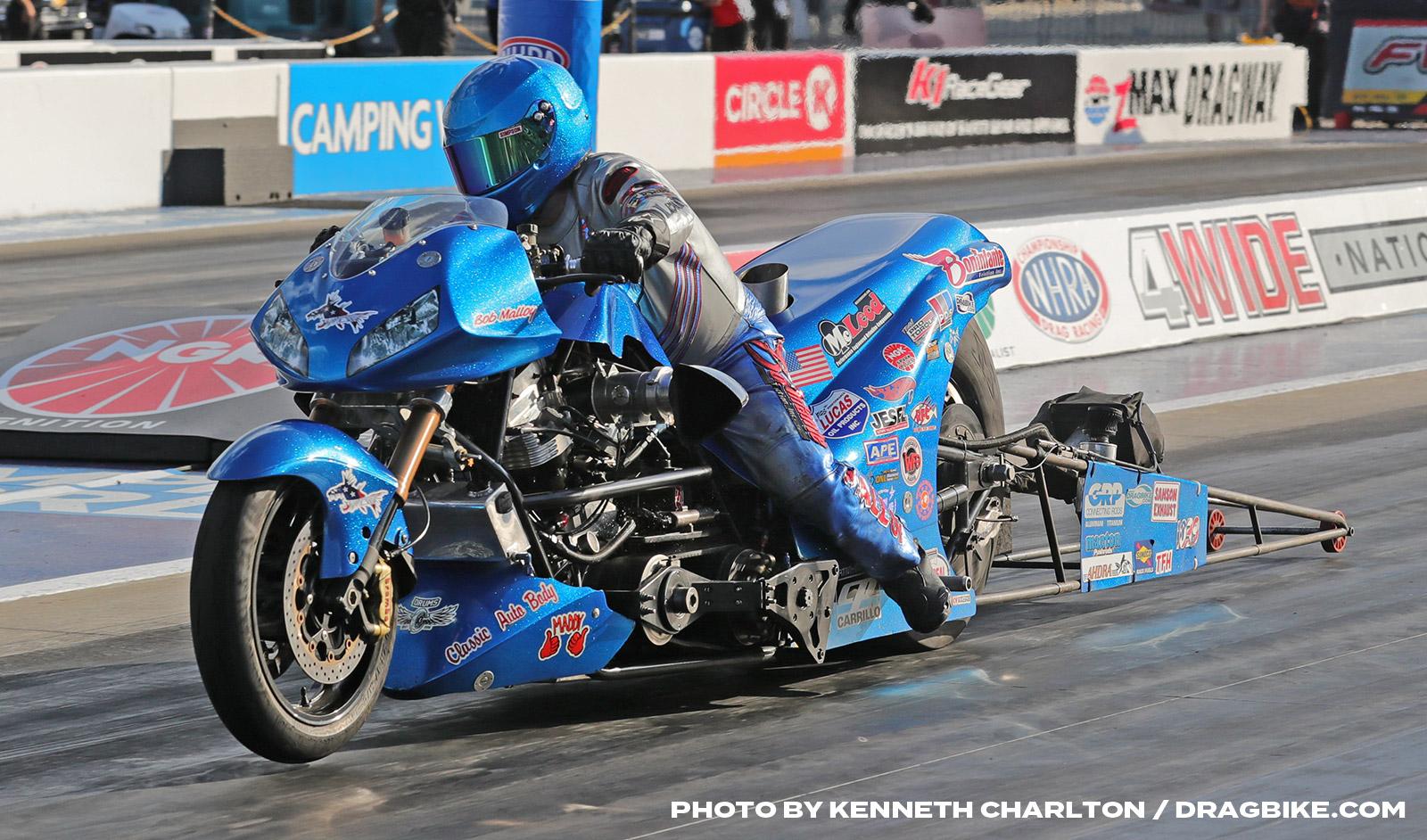 NHRA Top Fuel Harley - Bob Malloy