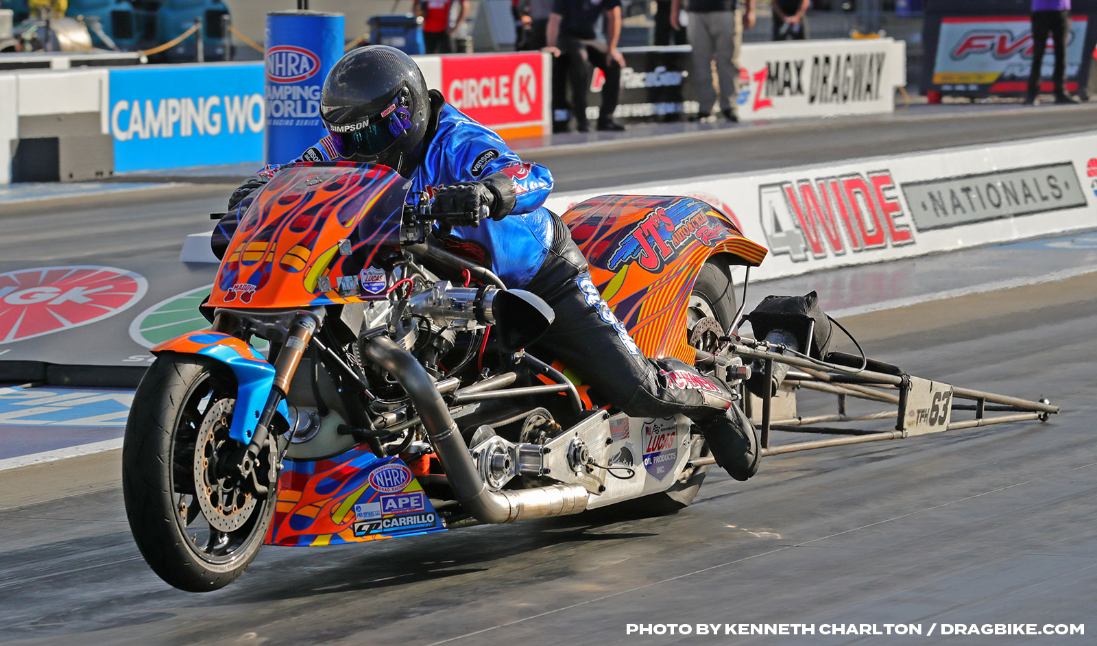 NHRA Top Fuel Harley - Jay Turner