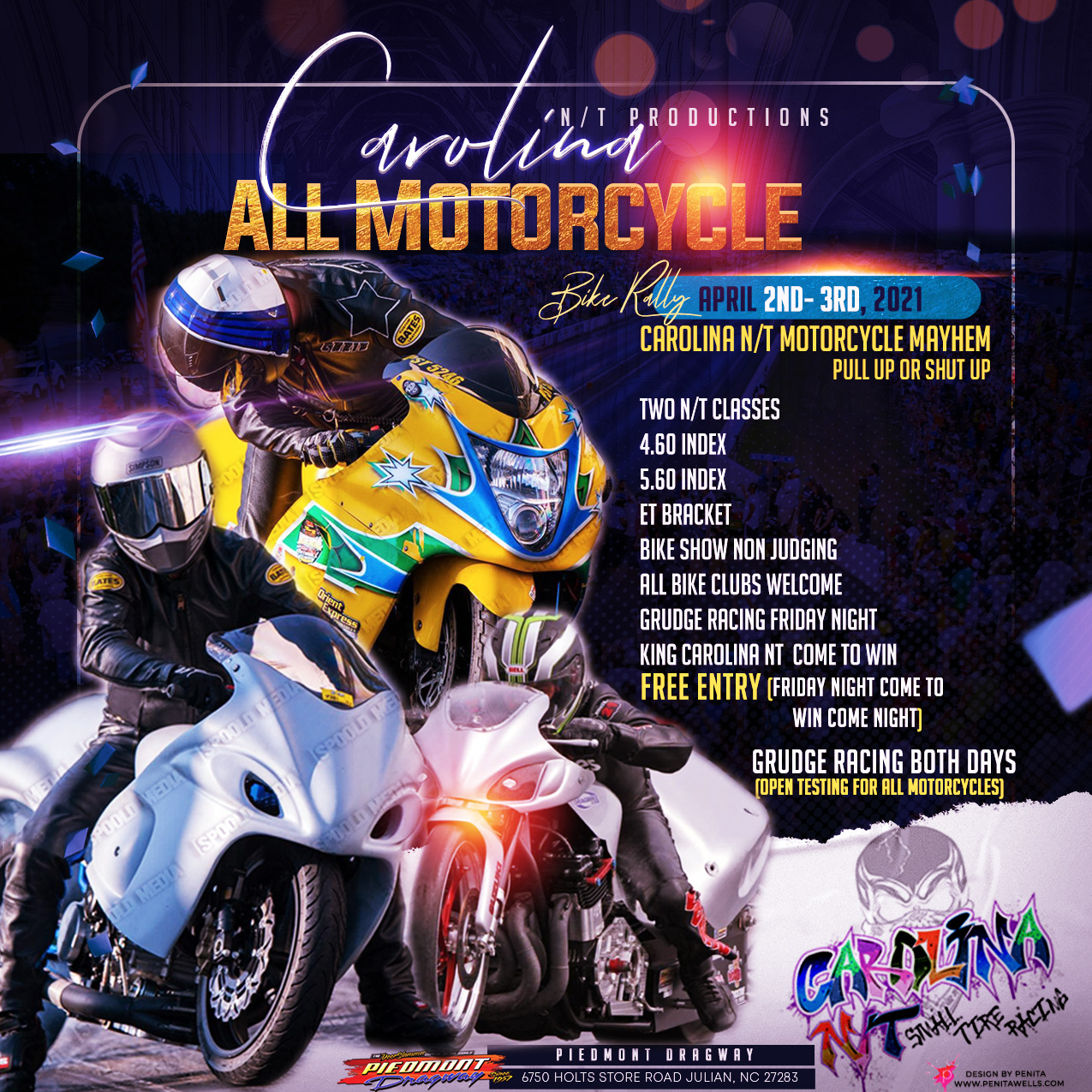 Carolina ALL Motorcycle Bike Rally April 2021