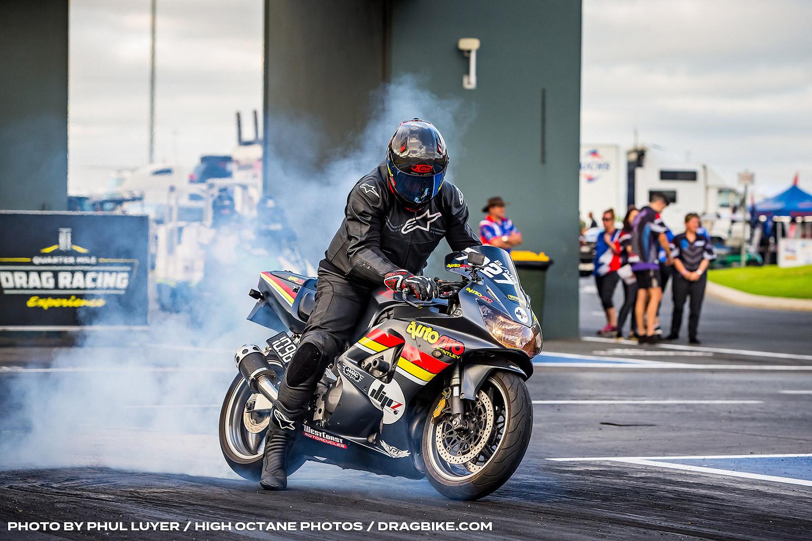 Jarrod Maclean at Perth Motorplex