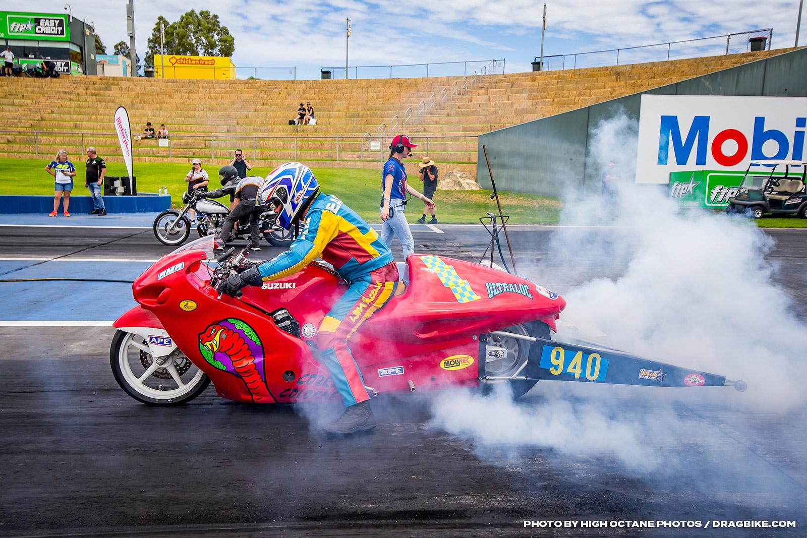 Ray Easson Drag Racer