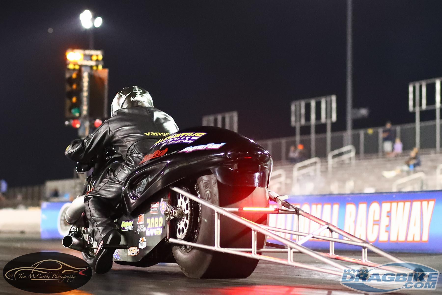 Top Fuel Motorcycle - Mike Chongris