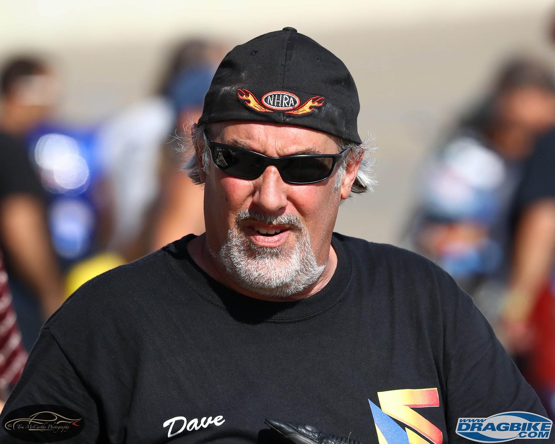 Top Fuel Motorcycle - Dave Vantine