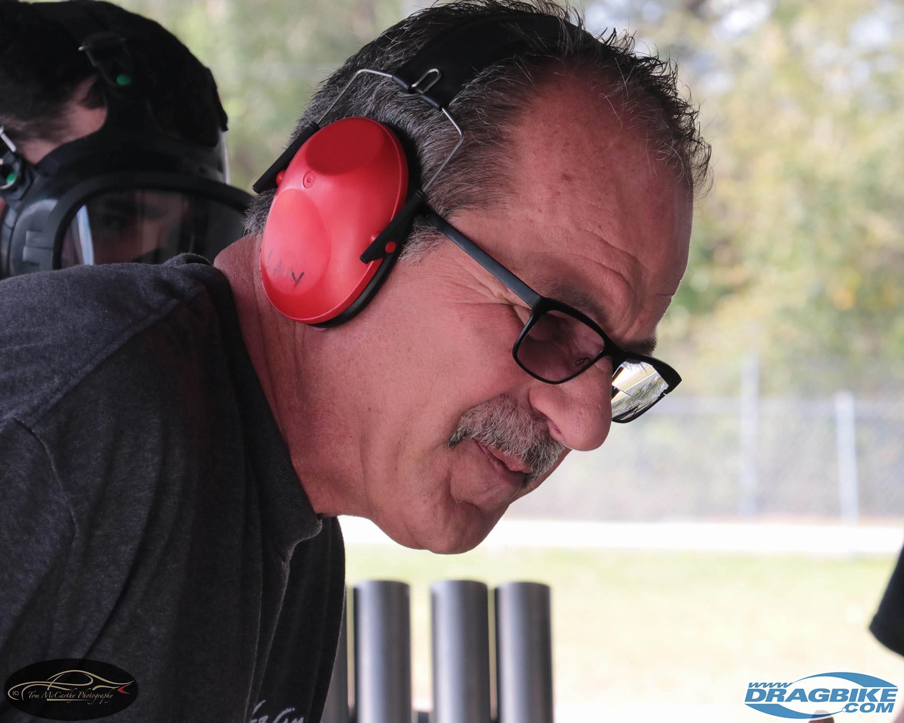 Top Fuel Motorcycle - Larry McBride