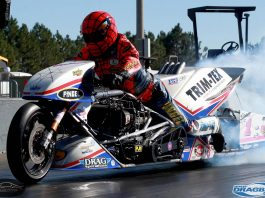 Top Fuel Motorcycle - Larry McBride