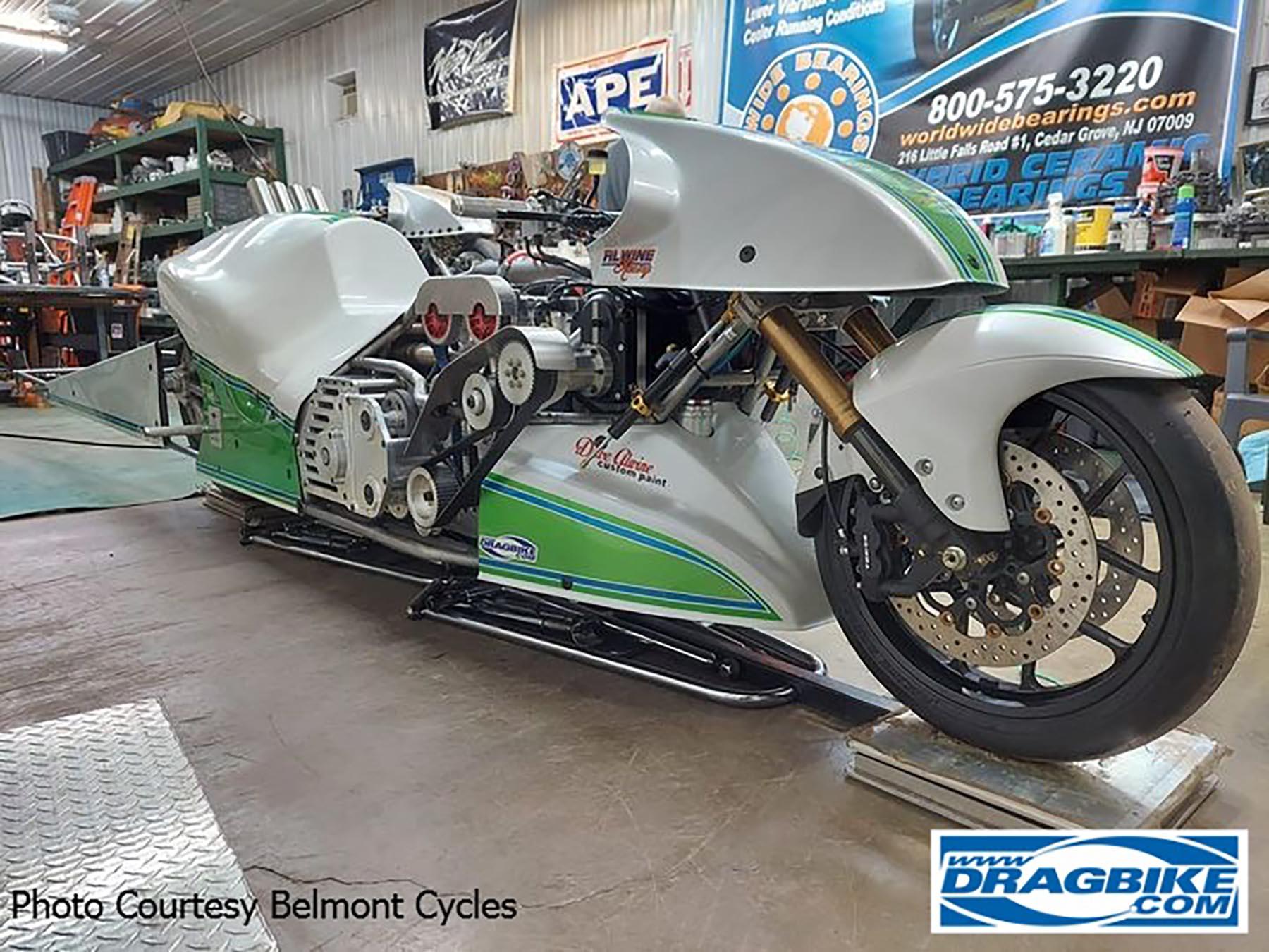 Top Fuel Motorcycle - Micah Fenwick