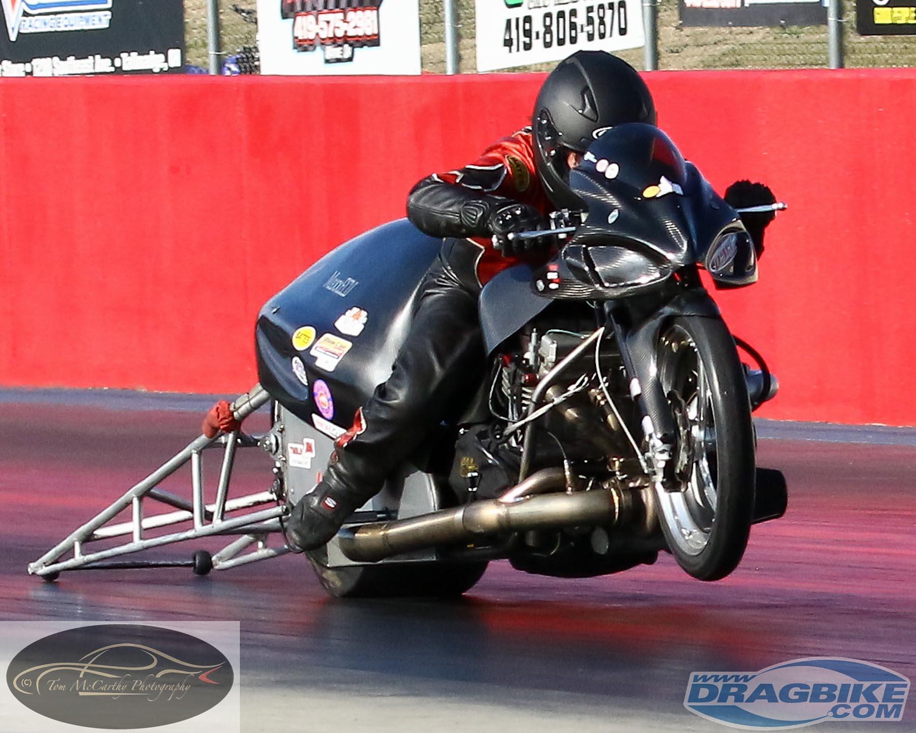 Top Fuel Motorcycle - Rob Garcia