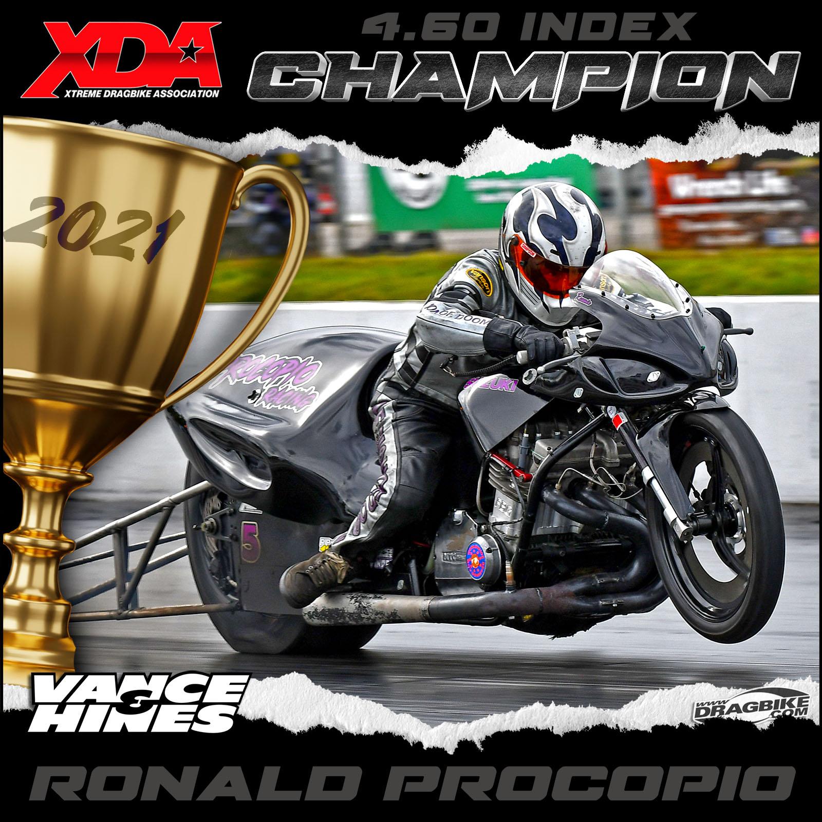 XDA 2021 Champion Ronald Procopio
