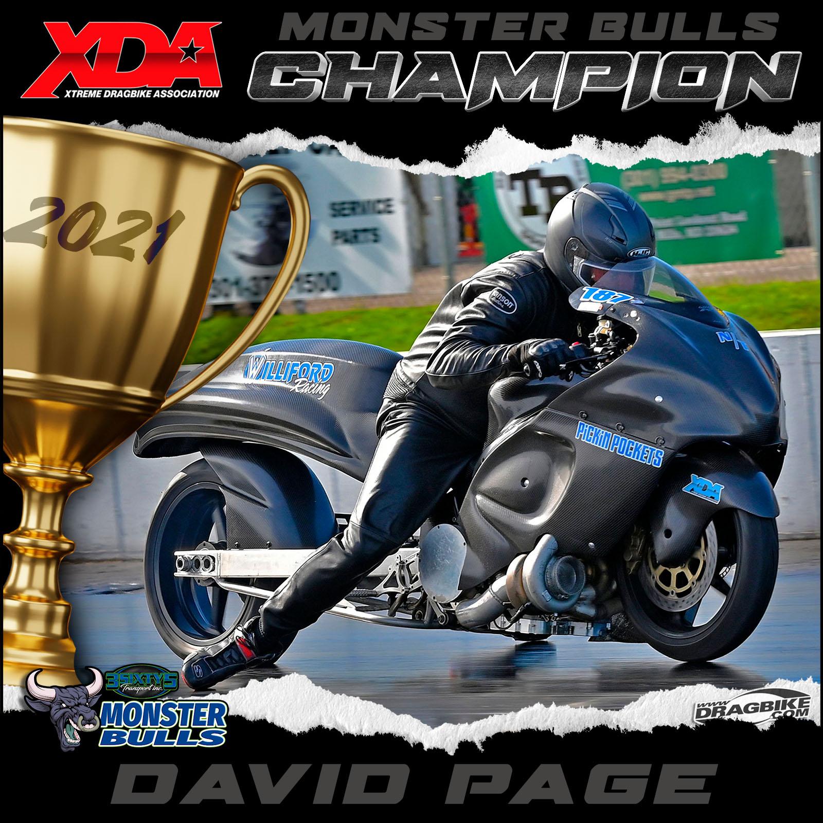 XDA 2021 Champion David Page