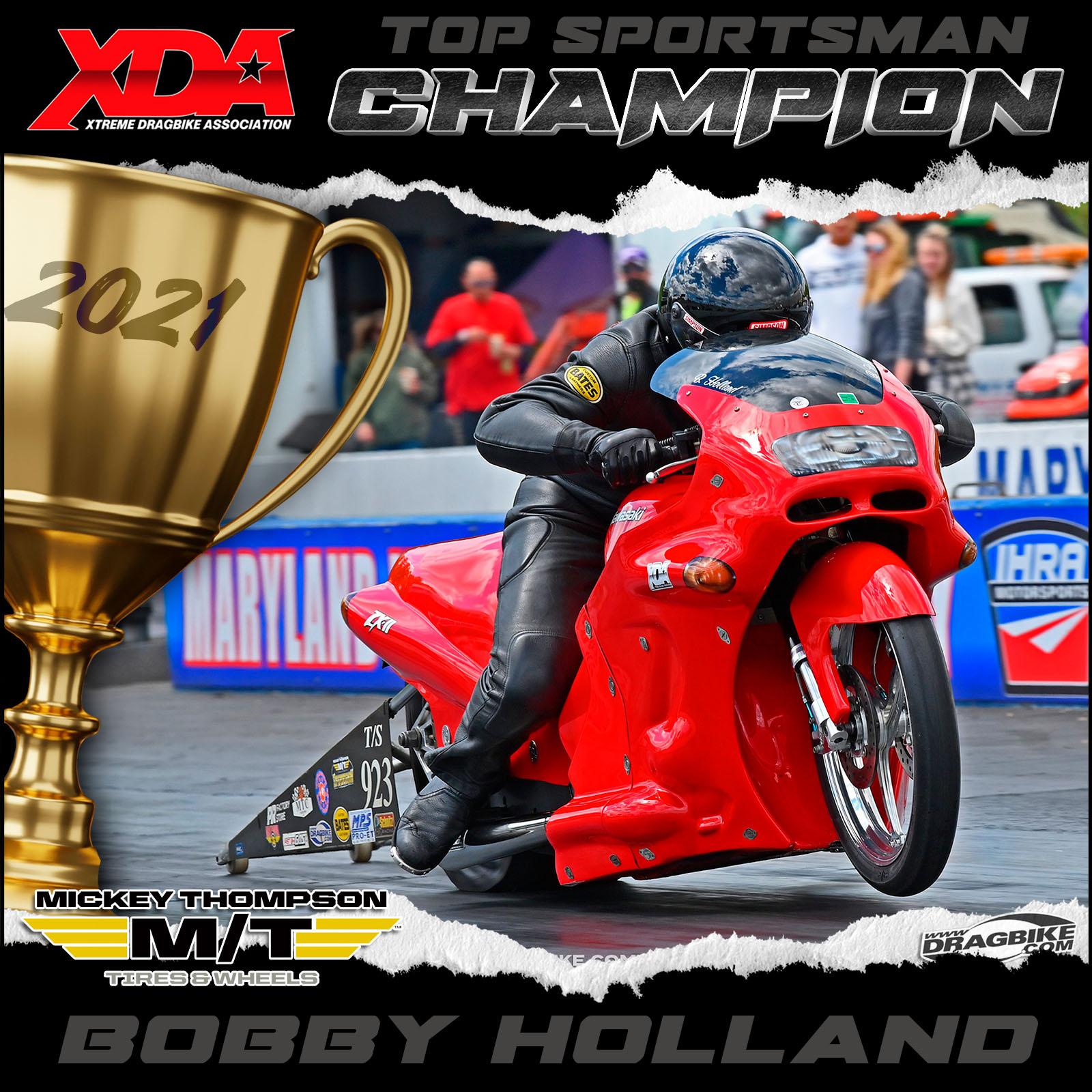 XDA 2021 Champion Bobby Holland