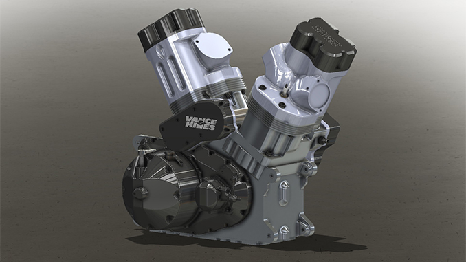 Vance & Hines Launches New V-Twin for NHRA Motorcycle Racing