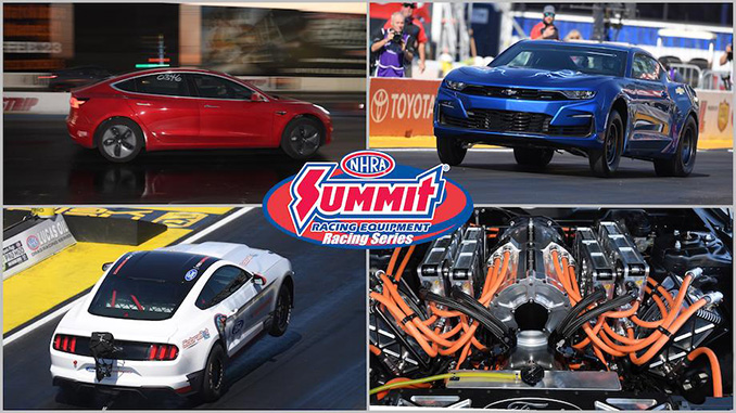 NHRA Announce Addition of New Electric Vehicle Class to Summit ET Series for 2022