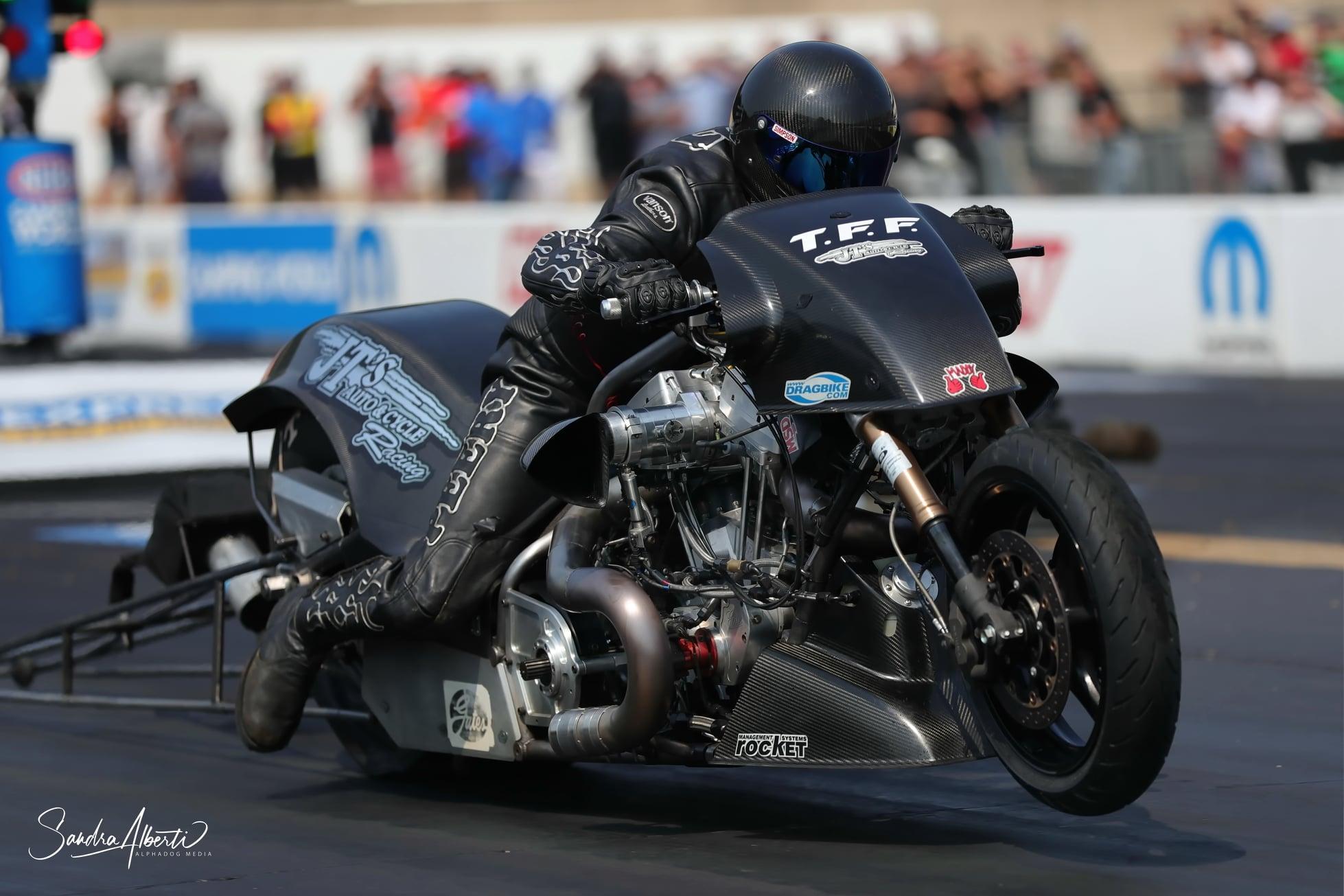 Ryan Peery - Top Fuel Harley