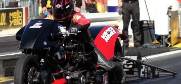 NHRA Top Fuel Harley: Results from Pomona