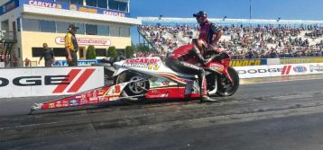 Hector Arana Jr. stays focused on big prize with another top finish