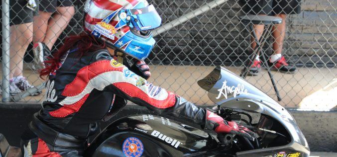 Angelle Sampey Leads Team Liberty Racing to a Semifinal Appearance