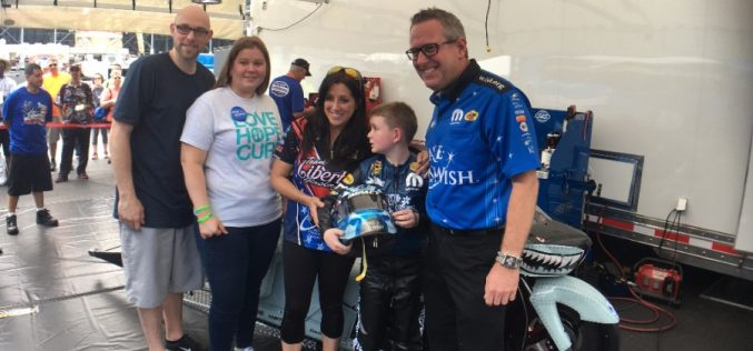 Angelle Sampey, Tommy Johnson Jr., Terry Chandler Grant Christopher's Wish in Charlotte