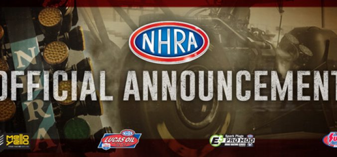NHRA Postpones Season For At Least 30 Days