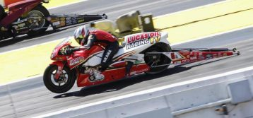 Record holder Hector Arana Jr. focused on first 200-mph Pro Stock Motorcycle pass