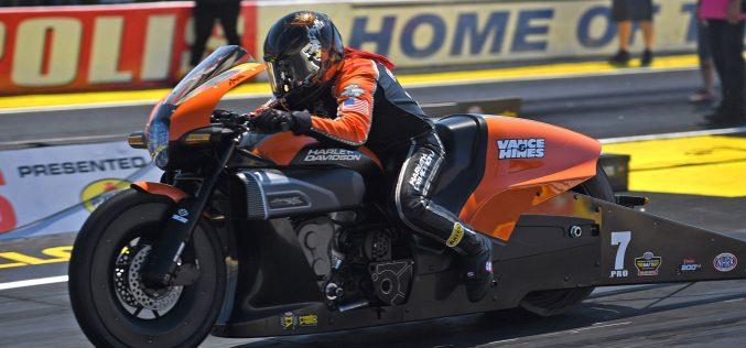 Angelle Sampey and Harley-Davidson Back on Top at Indy