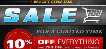 Brock's Performance: Annual Storewide Sale