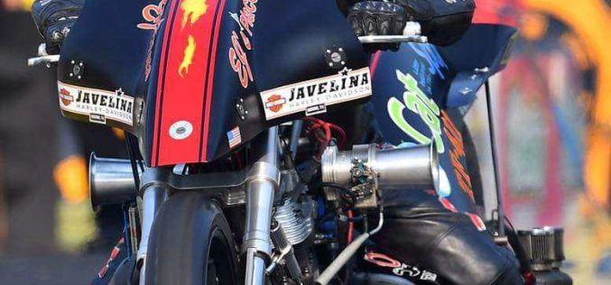 CatSpot Top Fuel Harley rider Ricky House Ready to Shine at NHRA Northwest Nationals