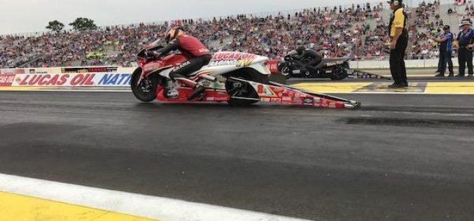 Fading motor sidelines top qualifier Hector Arana Jr.
