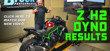 Brock's Performance: Kawasaki Z H2 Dyno Runs – Supercharged Streetfighter Project: Part 1