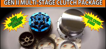 MTC : Hayabusa Gen II Multi-Stage Clutch Package Special