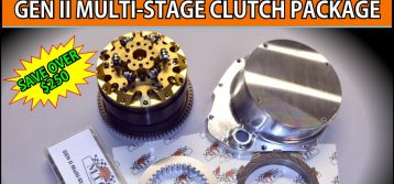 MTC : GSX-R1000 Gen II Multi-Stage Clutch Package Special