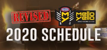 NHRA: Revised Schedule Starts in July with 2 Indy Events
