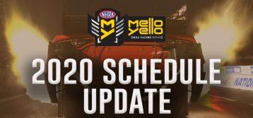 NHRA: Revised Plan to ReStart 2020 Drag Racing Series