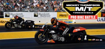 NHRA: Pro Stock Motorcycle Racing for 25K at Sonoma Nationals