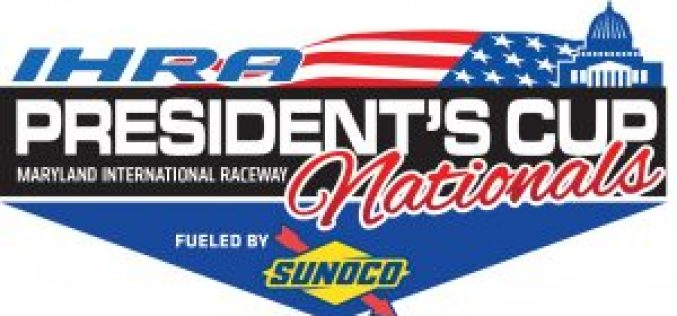 IHRA President's Cup Nationals : Results from Maryland