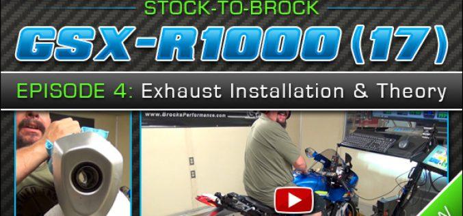 2017 Suzuki GSX-R1000 | Episode 4 : Exhaust Installation and Theory