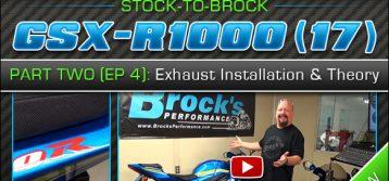 2017 Suzuki GSX-R1000 | Episode 4 : Exhaust Installation and Theory (Part 2) Standard vs. 'R' Version