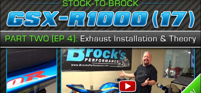 2017 Suzuki GSX-R1000 | Episode 4 : Exhaust Installation and Theory (Part 2) Standard vs. 'R' Version