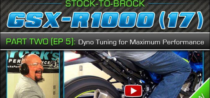 2017 Suzuki GSX-R1000 | Episode 5 : Dyno Tuning (Part 2) for Maximum Performance