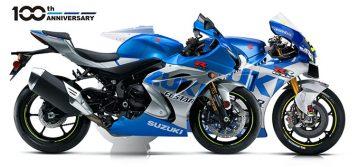 Suzuki Announces 2021 GSXR 100th Anniversary Edition Sportbikes