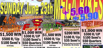 Mega Bikes at Music City Raceway 6/25