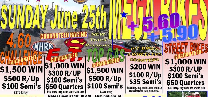 Mega Bikes at Music City Raceway 6/25