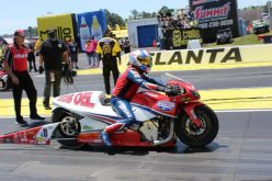 Lucas Oil pro Hector Arana Sr. races  past son in Atlanta's first round