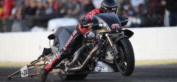 NHRA: Randal Andras Clinches Top Fuel Harley Championship
