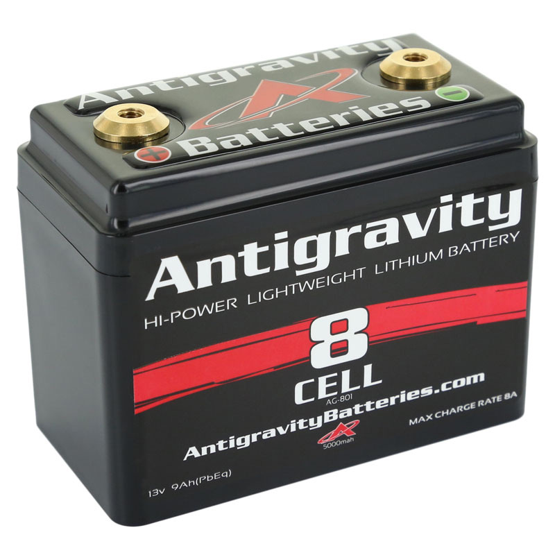 Antigravity Lightweight Lithium Race Batteries