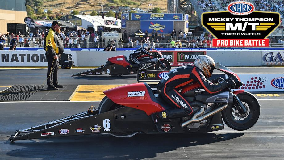 Mickey Thompson Tires Pro Bike Battle to be contested at U.S. Nationals in 2020