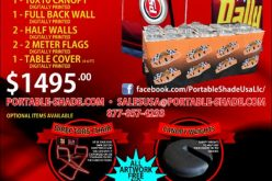 Portable Shade : June Special – 15% Off Display Package