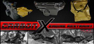 DME Racing: Carbon X Lower Engine Restraint