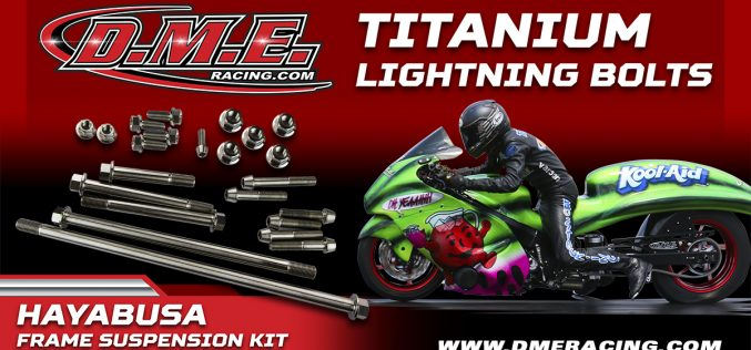 DME Racing: Titanium Frame and Suspension Kits
